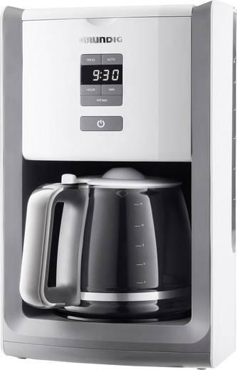 Kaffeemaschine Grundig KM 7280 w Weiß/Edelstahl Fassungsvermögen Tassen