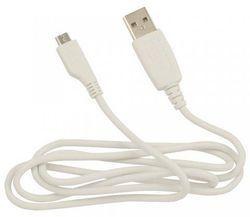 Fontastic Micro USB Datenkabel SYNC MIC10, 1,50m, Weiß