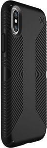 SPECK Presidio Grip Cover für iPhone X/Xs, Schwarz/Schwarz