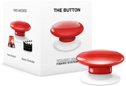 Z-Wave Fibaro The Button Kabellos Alarm Panikknopf