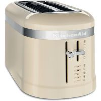 KitchenAid Design Collection Toaster 4-Scheiben crème (5KMT5115EAC)