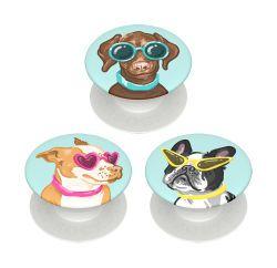 PopSockets Minis Posh Pups VE=3 Stück