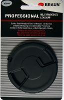Braun Objektivdeckel 77mm