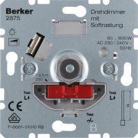 BERKER 2875 Drehdimmer 60-600W, mit Softrastung