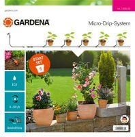 Gardena Micro-Drip-System Start-Set Pflanztöpfe S (Display) (13000-32)