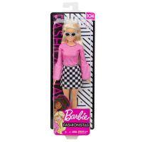 Mattel Barbie Fashionistas Puppe im schwarzweiß-karierten Rock (FXL44)