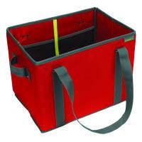 Meori Faltbarer Einkaufskorb Hibiscus Red Solid (A100425)