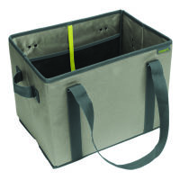 Meori Faltbarer Einkaufskorb Stone Grey Solid (A100426)
