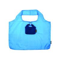 Meori Falttasche Shopping Aqua Blue Solid (A100468)