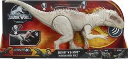 Mattel Jurassic World Fressender Kampfaction Indominus Rex, Spielfigur (GCT95)