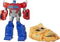 Hasbro Transformers Cyberverse Spark Armor Ark Power Optimus Prime, Spielfigur (E4218EU4)