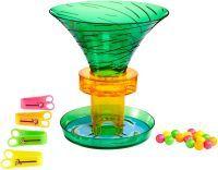Mattel S.O.S. Affenalarm Früchte-Alarm, Geschicklichkeitsspiel (GDJ90)