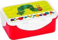 Die kleine Raupe Nimmersatt Brotdose klein Raupe Nimmersatt grün 16x (90177712)