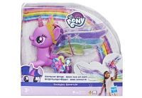 Hasbro My Little Pony Regenbogenflügel Twilight Sparkle, Spielfigur (E2928EU4)