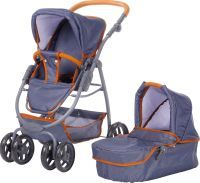 KNORR Toys Puppenwagen Coco Dark Blue (55207348)