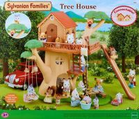 EPOCH Traumwiesen Sylvanian Families - Baumhaus, Konstruktionsspielzeug (4618)
