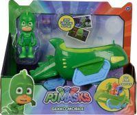 Simba PJ Masks Gecko mit Geckomobil, Spielfigur (109402085)