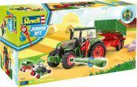 Revell Junior Kit Traktor & Anhänger mit Figur (19706117)