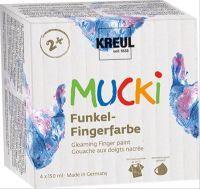 C. KREUL MUCKI Funkel-Fingerfarbe 4er Set (63313190)