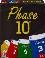 Mattel, Phase 10 Basis Kartenspiel, Games, 3,2x10,2x12,7 cm