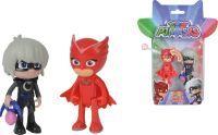 Simba PJ Masks Light-Up Figuren Set Eulette+Luna, Spielfigur (109402150)