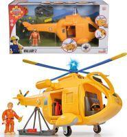 Feuerwehrmann Sam FS Sam Hubschrauber Wallaby II mit Figur (42022586)