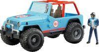 bruder Jeep Cross Country Racer mit Rennfahrer, Modellfahrzeug (02541)