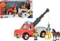 Simba Feuerwehrmann Sam Phoenix mit Figur und Pferd, Konstruktionsspielzeug (109258280)