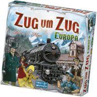 Asmodee Zug um Zug - Europa, Brettspiel (200098)