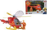 Feuerwehrmann Sam - Bergwacht Hubschrauber Helikopter mit Tom Licht & Sound