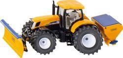 SIKU Traktor m. Räumschild u. Salzstreue (31246652)