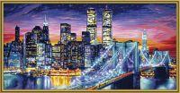 Malen nach Zahlen MNZ - Manhattan bei Nacht (63600083)