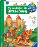 """Ravensburger """"Wir entdecken die Ritterburg"""" Kyrima Trapp Wieso? Weshalb? Warum?Kinderbücher ab 4 Jahre Ravensburger Buchverlag"""