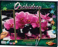 Malen nach Zahlen MNZ - Orchideen (Triptychon) (63617202)