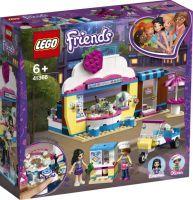 LEGO 41366 Friends Olivias Cupcake-Café, Konstruktionsspielzeug (41366)