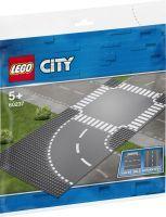 LEGO 60237 City Kurve und Kreuzung, Konstruktionsspielzeug (60237)