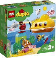 LEGO 10910 DUPLO U-Boot Abenteuer, Konstruktionsspielzeug (10910)
