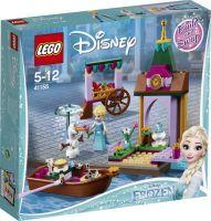 LEGO®, Elsas Abenteuer auf dem Markt 41155, Disney, 4,6x20,5x19,1 cm, 125 Teile, 41155