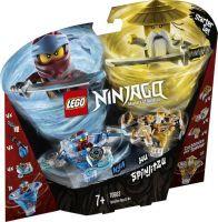 LEGO®, Spinjitzu Nya & Wu 70663, NINJAGO, 6,2x29x24,5 cm, 227 Teile, 70663