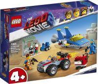 LEGO®, Emmets und Bennys Bau- und Reparaturwerkstatt! 708, LEGO Movie™ 2, 6,1x26,2x19,1 cm, 117 Teile, 70821