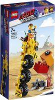 LEGO®, Emmets Dreirad! 70823, LEGO Movie™ 2, 6,1x14,1x26,2 cm, 174 Teile, 70823