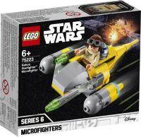 LEGO 75223 Star Wars Naboo Starfighter Microfighter, Konstruktionsspielzeug (75223)
