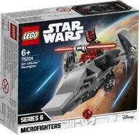 LEGO 75224 Star Wars Sith Infiltrator Microfighter, Konstruktionsspielzeug (75224)