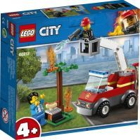 LEGO 60212 City Feuerwehr beim Grillfest, Konstruktionsspielzeug (60212)