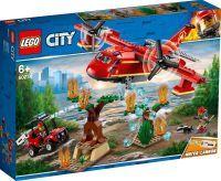 LEGO 60217 City Löschflugzeug der Feuerwehr, Konstruktionsspielzeug (60217)