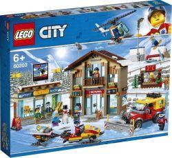 LEGO 60203 City Ski Resort , Konstruktionsspielzeug (60203)