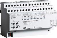 Gira 103800 Schalt-Jalousieaktor 16fach/8fach 16A KNX REG