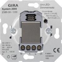 Gira 238500 System 2000 Universal-LED-Dimmeinsatz (Tastdimmer) 3-420W/VA