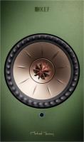 KEF Stereo-Lautsprecher (aktiv) LSX 1 grün /Set (Master + Slave)