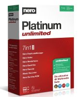 Nero Platinum Unlimited (EMEA-12200010/1309)